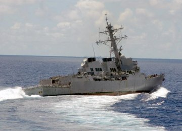 China Summons US Envoy  Over Ship Incursion