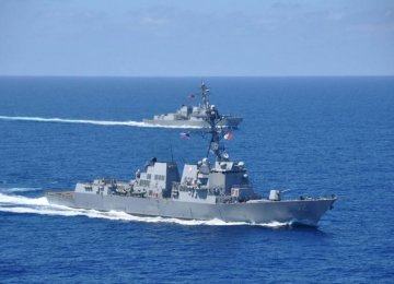 US Will Continue Activity in S. China Sea