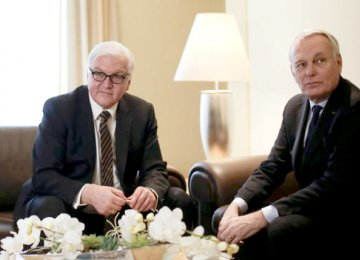 Germany, France Press for Ukraine Peace Plan Action