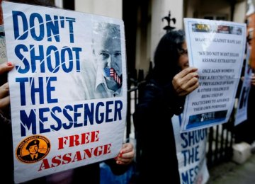 WikiLeaks' Assange Wins Support of UN Panel