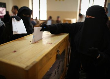 Saudi Women Voting for 1st Time