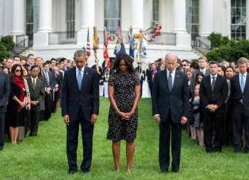 Obama Honors 9/11 Victims
