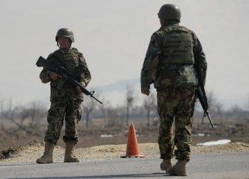 4 Afghan Soldiers Killed in Taliban Blast