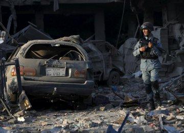 Truck Bomb Kills Scores in Kabul