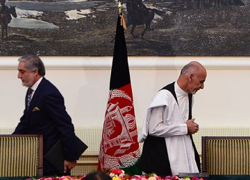 Taliban Reject Afghan Unity Gov't Pact as US Sham