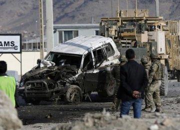 2 Killed  in Afghan Blasts