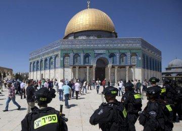 Israeli Police Storm Al-Aqsa Mosque