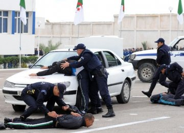 Algerian Crackdown