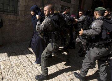 Israeli Soldiers Storm Al-Aqsa