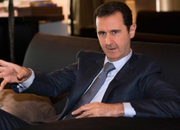 Assad: Terror Exported to Mideast From Europe