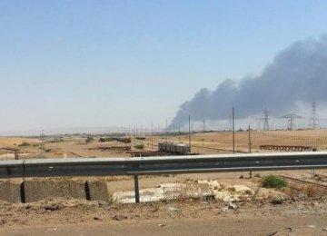 Iraqi Forces Enter Baiji Refinery