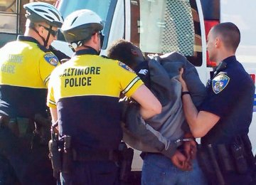 Baltimore Protests Continue  After Police Officers Charged