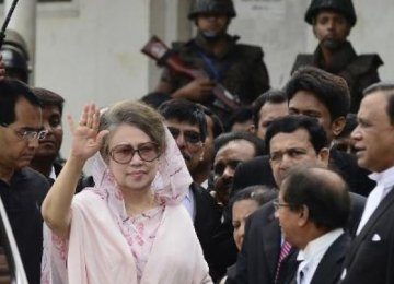 Bangladesh Opposition Leader Leaves Office in 3 Months
