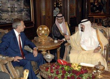 Blair Made $325k in Saudi Oil Deal