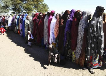 300 Females Rescued From Boko Haram