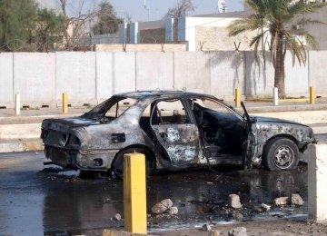 Bomb Hits Car of Hamas Official