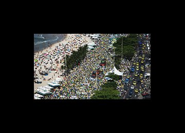 Mass Protests Against Rousseff