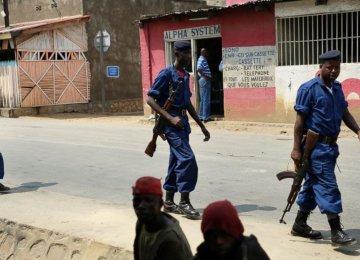 Violence Mars Burundi Election