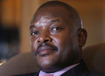 Coup Declared Against Burundi President