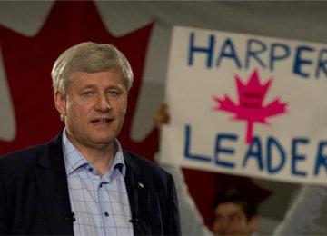Harper's Political Future Hits Rock Bottom
