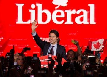 Canadians Kick Out Harper Gov't