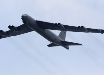 US Bombers Fly Near Disputed Islands