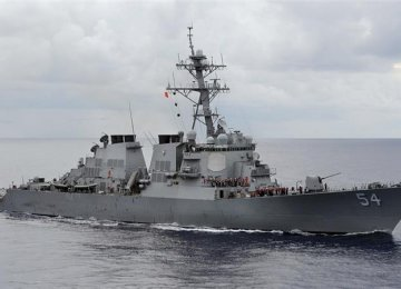 China Condemns US for Warship Sail-by