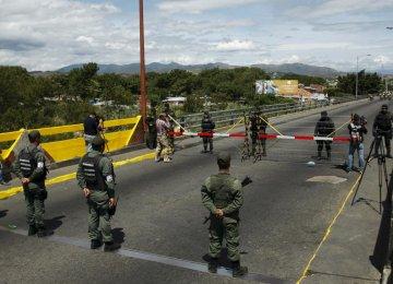 Colombia, Venezuela Recall Envoys Over Border Tension
