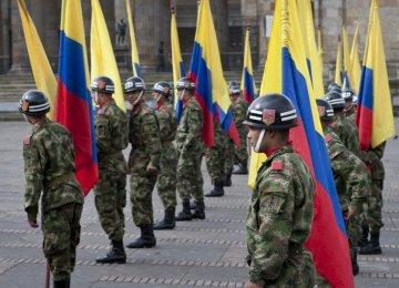 Colombia Halts Bombing Farc Rebels