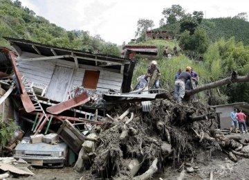 Columbia Landslide Kills Dozens