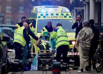 2 Dead, 5 Wounded in Copenhagen Shootings