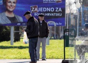 Presidential Vote in Croatia