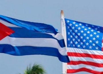 US Presses Cuba to Restore Ties Before April