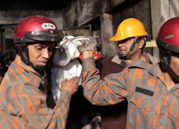 Dhaka  Factory Blast