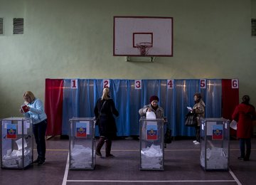 Incumbent Leaders Win East Ukraine Elections