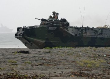 Philippines, US in Military Drills Near Disputed Seas