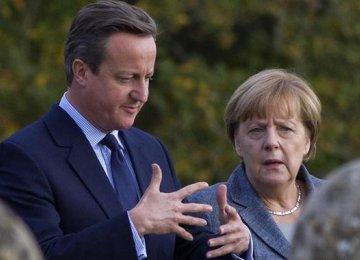 Merkel, Cameron Pledge Progress on EU Reform Deal