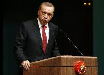Erdogan Snubs EU Over Media Raids Criticism