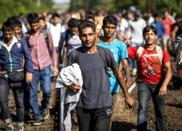 East European Countries Reject Refugee Quotas