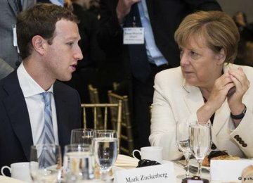 Zuckerberg Promises Merkel  to Fight Hate Speech