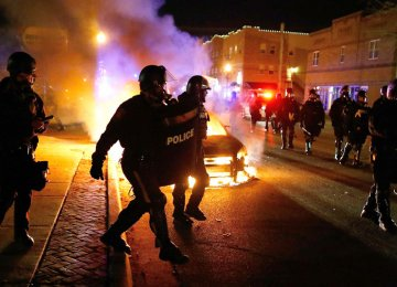 Ferguson Protests Spread Across US