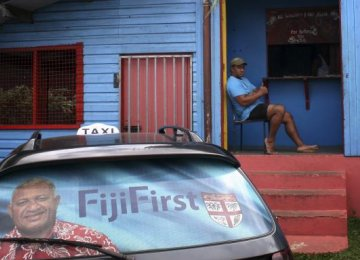 Fijians Vote  for First Time  in 8 Years