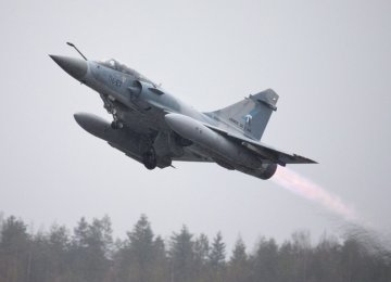 France Plans Strikes on IS in Syria