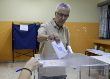 Tsipras Fights for 2nd Chance in Vote