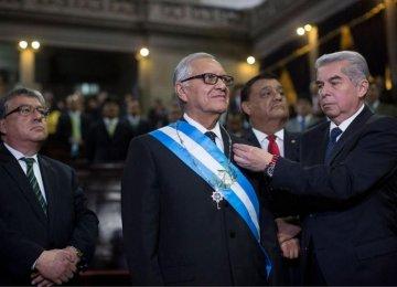 New President in Guatemala