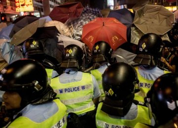 Violent Clashes as HK Protesters Retake Camp