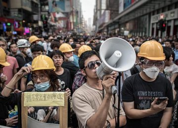 HK Protesters to Vote on Gov't Proposals