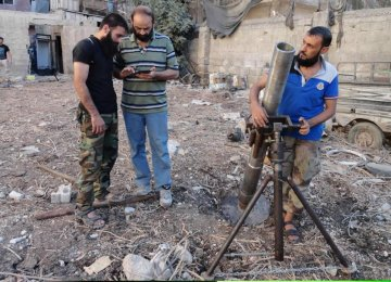 Syrian Civilians Victim  of Militant 'Hell Cannons'