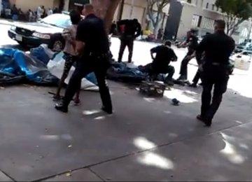LAPD Shoots Homeless