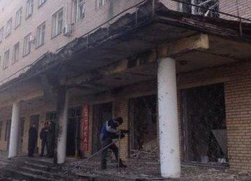 5 Killed in Donetsk Hospital Shelling